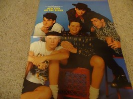 Neil Patrick Harris New Kids on the block teen magazine poster clipping ... - $4.00