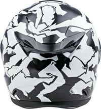 L Fly Racing Sentinel Ambush Motorcycle Helmet Camo/Black/White DOT & ECE  image 3