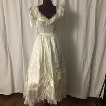 Vintage Gunne Sax Southern Belle Edwardian Bridal Dress Renaissance Gown... - $225.00