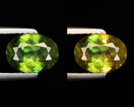 1.20ct NATURAL COLOR CHANGING SPHENE - $125.00