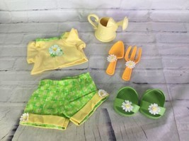 "2005 Cabbage Patch Kids Spring Gardening Outfit Fashion for 16"" CPK Doll & More - $31.67"