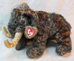 "TY Beanie Buddy SOFT GIGANTO THE WOOLY MAMMOTH 11"" Plush STUFFED ANIMAL NEW - $19.80"