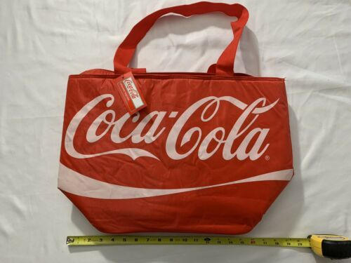 Primary image for COCA-COLA INSULATED COOLER CARRY SHOULDER BAG Tote New NWT Official