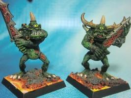 Dungeons & Dragons Miniatures  Demon Cyclops Goblins Hand Painted !!  s102c - $24.00