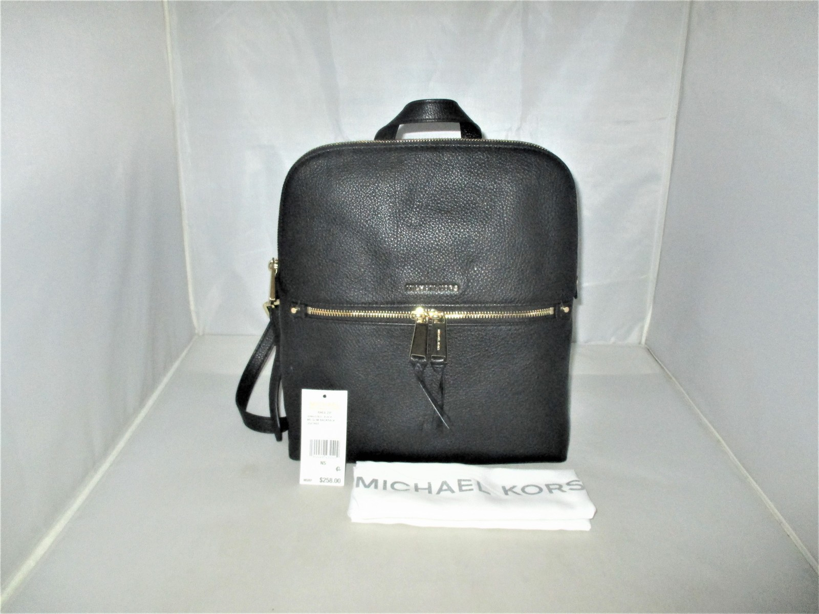88fa11c3c278 Michael Kors Rhea Medium Slim Pebble Leather and 50 similar items. Img 9826