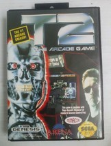 Sega Genesis T2: The Arcade Game 1992 With Case and Manual - $15.00