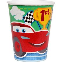 Disney/Pixar Cars 1st Birthday Champ 9 oz. Party Cups 8 Pack - $2.56