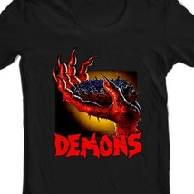 Demons movie T shirt Demoni Italian vintage classic horror movie graphic tee  image 2