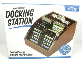 Nifty Mini Tabletop Docking Station for Smartphones & Digital Devices Br... - $24.95