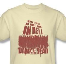 Dawn of Dead T-shirt vintage 70's cotton graphic zombie tee horror movie UNI479 image 1