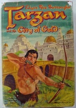 Tarzan and the City of Gold Edgar Rice Burroughs Whitman Edition hardcov... - $6.00
