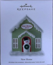 Hallmark Keepsake Ornament New Home 2011 Snowman Christmas Tree - $8.95