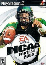 Ncaa Football 2003 Playstation 2 PS2 Complete - $5.63