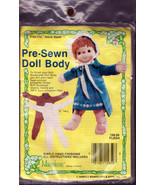 Doll Body Material, Cloth Pre-Sewn Flesh color, 12 inches, One Soft Doll... - $8.00