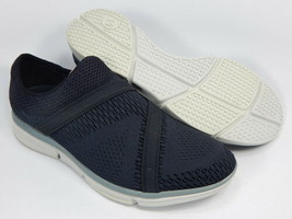 Merrell Zoe Sojourn E-Mesh Q2 Sz 8 M EU 38.5 Damen Slip Auf Sneaker Black J93828 - $51.98