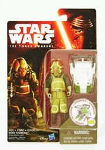 HASBRO STAR WARS THE FORCE AWAKENS 3.75-INCH FIGURE FOREST MISSION GOSS ... - $6.93