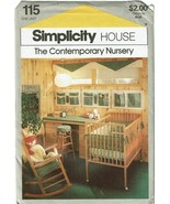Simplicity Sewing Pattern 115 Contemporary Nursery Guide How To Cards  - $7.19