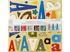 Heidi Grace Designs Alphabet Punch-Outs, 743 Pieces