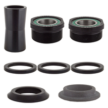 Opc 310-315G Black Ops Bottom Bracket Set Black Bottom Brackets Steel Blk