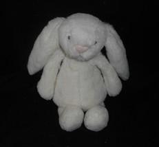 """7 """" Jellycat Little Bambino Bianco Coniglietto Peluche Piccolo Giocattolo Londra - $21.87"""