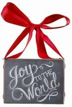 Joy Chalk Look Ornament Small Sign Primitives by Kathy - $5.95