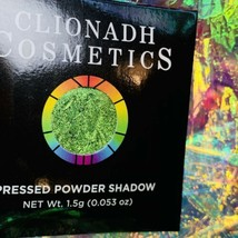 NWT NIB Clionadh Cosmetics JEWELLED MULTICHROME SINGLE PAN *1 SHADE* Trefoil image 2