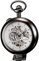 KS Half Hunter Men's Hand Wind Mechanical Pocket Watch KSP064 - $79.28