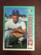 1992 Fleer - Ivan Rodriguez #316 - $0.99