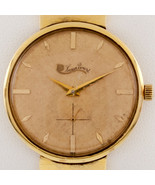 Lucien Piccard 14k Yellow Gold Men's Hand-Winding Watch w/ Gold Band - $2,138.40