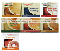 KRISPY KREME* (1) 3 oz Jar/Container DOUGHNUTS Scented Candle *YOU CHOOS... - $3.47