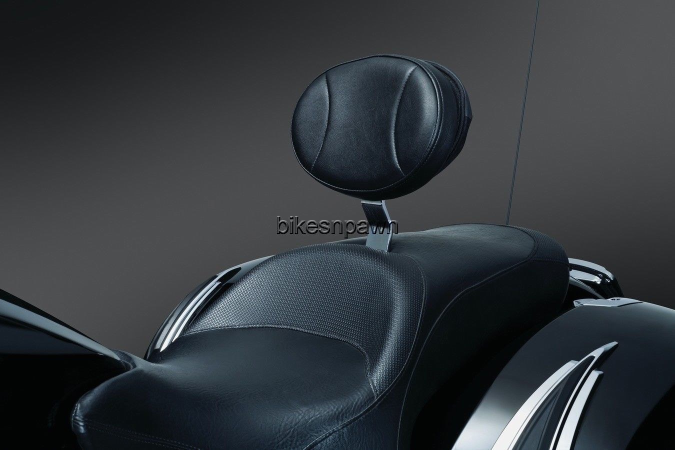 New Kuryakyn 1656 Plug-N-Go Driver Backrest Victory Models 2010-2017