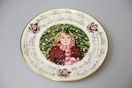 Vintage Royal Doulton annual Christmas holiday collector plate 1983 Sile... - $31.31