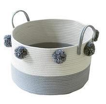 Black Temptation Useful Household Storage Organizers Laundry Basket Stor... - £33.08 GBP