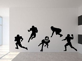 Football Players NFL Sports for car truck SUV laptop macbook window wall - $25.73
