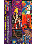 NBA Hoops Series 1, Skybox 1995-96 Uncut Promo Card Sheet - $1.19