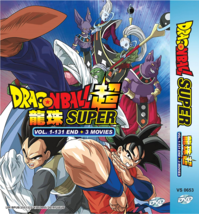 Dragon Ball SUPER Complete Series 1-131 End +3 Movies ENGLISH DUB Ship From USA