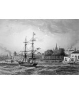 NEW ORLEANS Louisiana - CIVIL WAR Era Print - $39.60