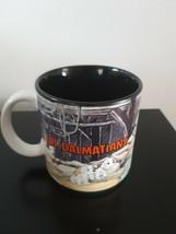 Disney 101 Dalmatians Mug Coffee Tea Dogs Vintage Black Inside - $13.76