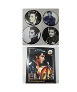 Elvis: The King Remembered Coffee Table Book & Coaster Set 4 Photograph ... - $15.17