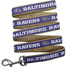 Pets First Baltimore Ravens Leash, Medium - $17.50