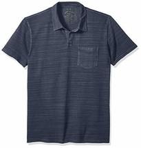 Lucky Brand Men's Johnny Collar Knit Polo, Navy Blazer, Size Small  $49.50 - $24.74