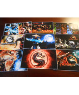 9 Mortal Kombat Stickers, Birthday party favors, labels, decals - $8.99