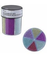 Darice® 6-Color Microbeads Caddy Glitter - $16.81