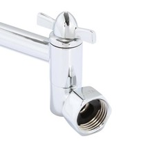 10-4/5 in. Adjustable Shower Arm in Chrome - $25.84