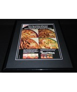 1987 Suzi Wan Dinners Framed 11x14 ORIGINAL Vintage Advertisement - $32.36