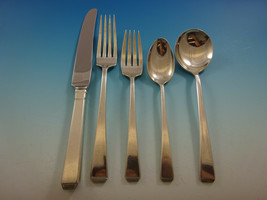 Craftsman by Towle Sterling Silver Flatware Set For 12 Service 61 Pieces - $3,650.00
