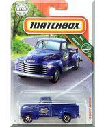 Matchbox - '47 Chevy AD 3100: MBX Road Trip #16/20 - #19/100 (2019) *Blue* - $3.25