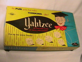 [G5] YAHTZEE BOARD GAME 1972 - $11.52