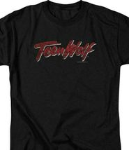 Teen Wolf logo t-shirt classic 80's high school movie graphic tee MGM268 image 3