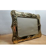 Gorgeous Vintage Standing Brass Picture Frame 5x7 - $36.58